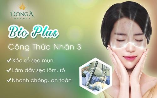 Công nghệ điều trị sẹo mụn 3 trong 1 - Bio Plus