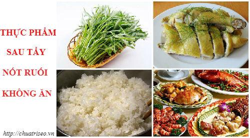 Tránh những thực phẩm làm vết thương viêm và lâu lành